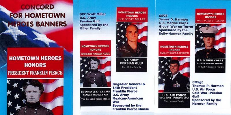 Concord Hometown Heroes Banner Program